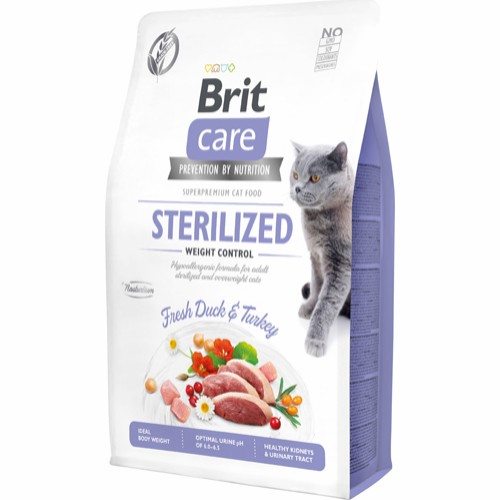 BRIT CARE sterilized light 7 kg